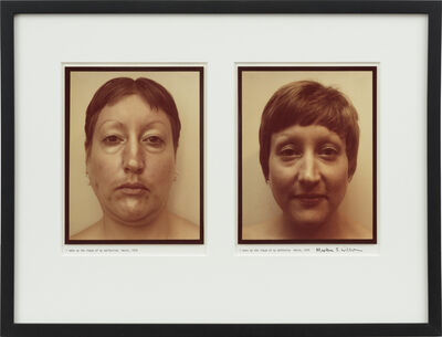 Martha Wilson, ' I Make Up the Image of My Perfection/I Make Up the Image of My Deformity ',  1974/2008
