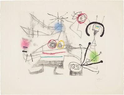 Joan Miró, 'Femme-oiseau II (Bird-Woman II)', 1960