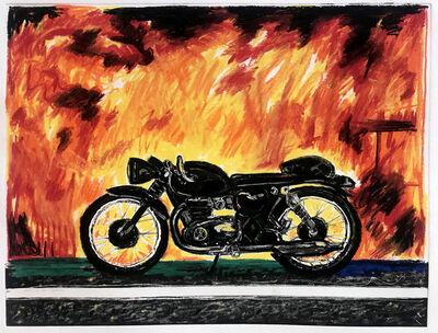 Erik Olson, 'Motorcycle: California Wildfire', 2019