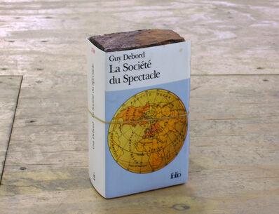 Claire Fontaine, 'La sociéte du spectacle brickbat', 2005