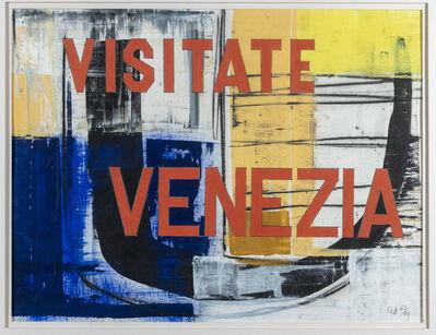 George Dannatt, 'Visitate Venezia', 1989