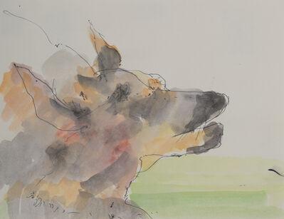 Robert Andrew Parker, 'German Shepherd Head', ca. 2010