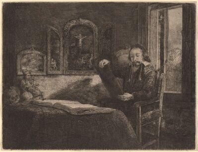 Rembrandt van Rijn, 'Abraham Francen', ca. 1657