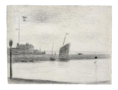 Georges Seurat, 'Un Soir, Gravelines', 1890