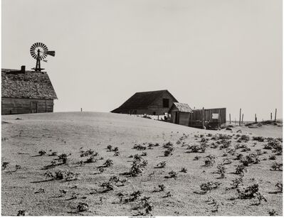 Dorothea Lange, 'Deserted Farm', circa 1936