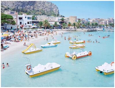 Massimo Vitali, 'Mondello Paddle Boats', 2007