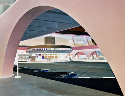 Andrew Prokos, 'Inverted - Central Bus Depot, Abu Dhabi', 2020