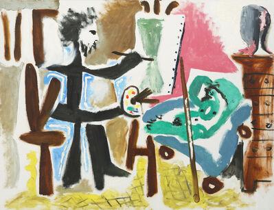 Pablo Picasso, 'Le Peintre et son modele II', 1963