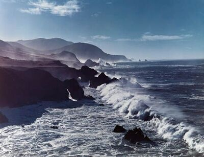 Cole Weston, 'Surf and Headlands'