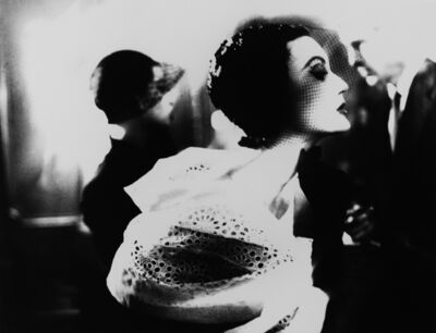 Lillian Bassman, 'Black and White: Mary Jane Russell, Le Pavillion (from Harper's Bazaar)', 1950
