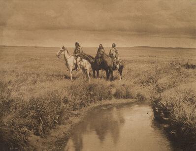 Edward Sheriff Curtis, 'The Three Chiefs - Piegan', c. 1900