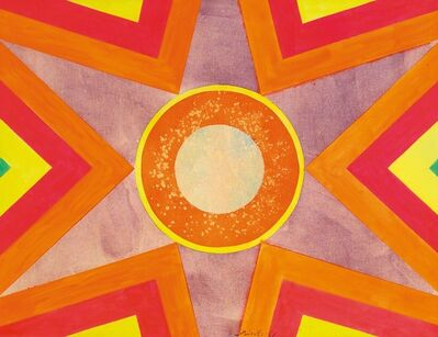 Hsiao Chin 蕭勤, 'Untitled (Surya-Sun series)', 1961