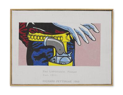 Richard Pettibone, 'Roy Lichtenstein, Fastest Gun, 1965', 1965