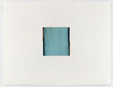 Callum Innes, 'Sapphire Blue / Saturn Red', 2020