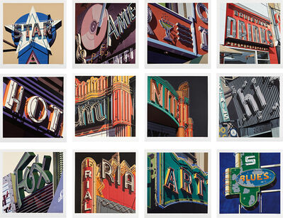 Robert Cottingham, 'American Signs Portfolio', 2009