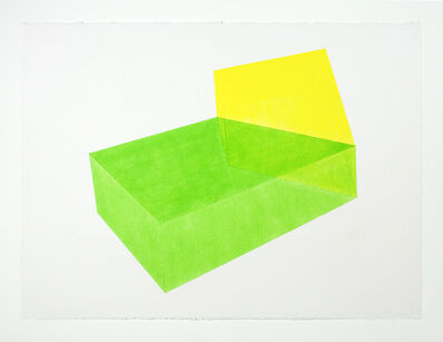Brant Ritter, 'Accidental Happiness, Green + Yellow', 2017