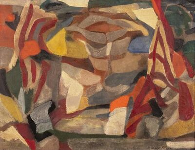 Salvatore Scarpitta, 'La Manrovescia', 1956