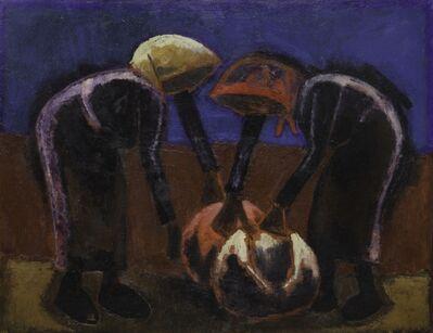 Josef Herman RA, 'Two Women', 1979