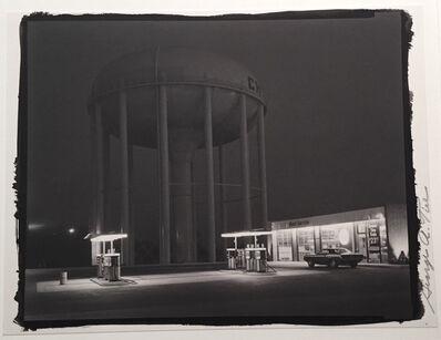 George Tice, 'Petit's Mobil Station, Cherry Hill, New Jersey', 1974