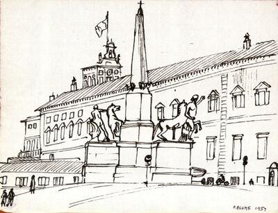 Peter Blume, 'Equestrian Monument ', 1957