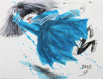 Hiroshi NAKAMURA, '少女騒乱 2', 2016