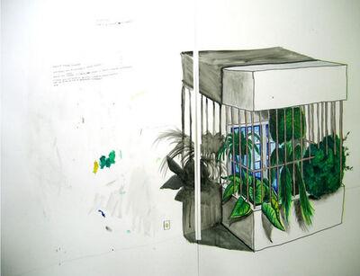 Daniel Murgel, 'O alpendre às avessas[The other side of the porch]', 2008