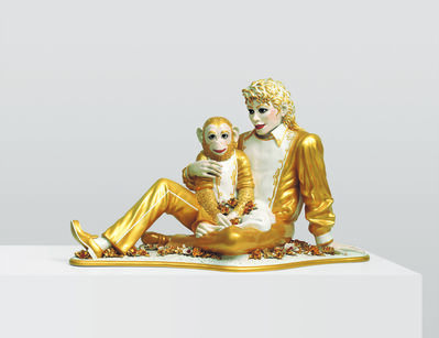 Jeff Koons, 'Michael Jackson and Bubbles', 1988