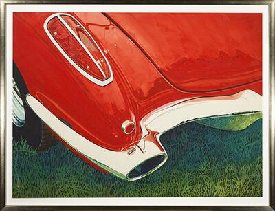 Bruce McCombs, '58 Corvette', 1995