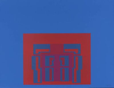 Robyn Denny, 'The Paramount Suite (blue)', 1969
