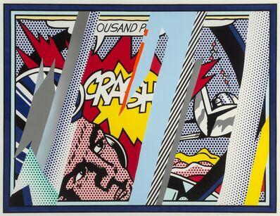 Roy Lichtenstein, 'Reflections on Crash, from Reflection Series', 1990