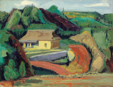 Cheng Chung-chuan, 'Countryside Landscape', 1970