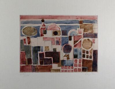 Eduard Bargheer, 'Forio d'Ischia', 1973