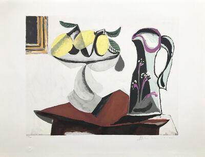Pablo Picasso, 'NATURE MORTE AU CITRON ET A LA CRUCHE', 1979-1982
