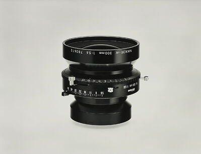 Christopher Williams, 'Nikkor W300 mm f/5.6 with No. 3 shutter 1:5.6 Product Aperture f/64 Product Number 1320 NAS Serial Number 780612 Large Format Camera Lens. Photography by the Douglas M. Parker Studio, Glendale, California. August 2, 2005', 2005