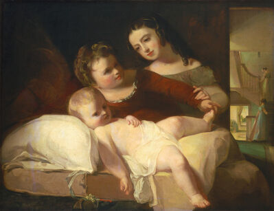 Thomas Sully, 'The David Children', 1826