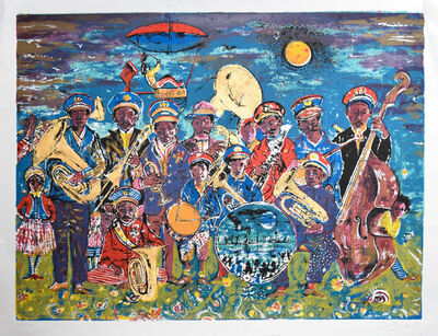 Noel Rockmore, 'Preservation Hall Band', 1978