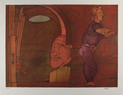 Valerio Adami, 'Naissance de la peinture', 1980