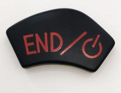 Luis Miguel Suro, 'End, de la Serie Pull the Button', 2000