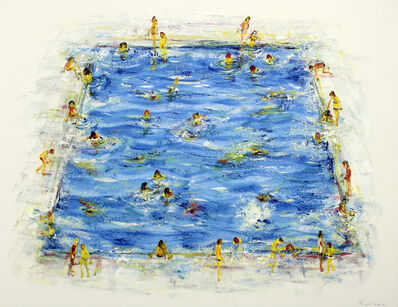 Stephen Forbes, 'Swimming Pool I', 2018