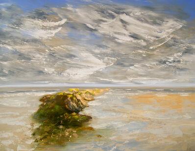 Réal Calder, 'Ile de sable no.4', 2018