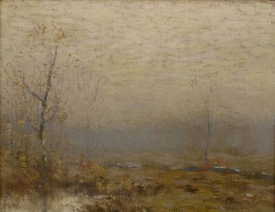 Bruce Crane, 'Silvery Grey Morning', ca. 1915
