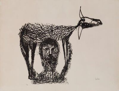 Sidney Nolan, 'Rinder Subject I', 1969