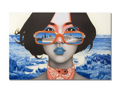 """Xu De Qi, '""""Underglaze Blue Girl""""', 2018"""