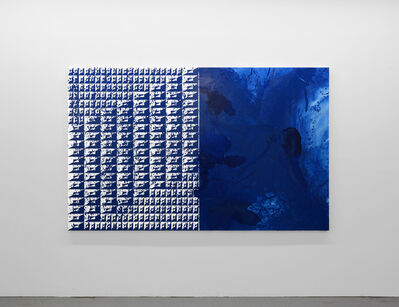 Matt Mignanelli, 'Swimming in Blue', 2018