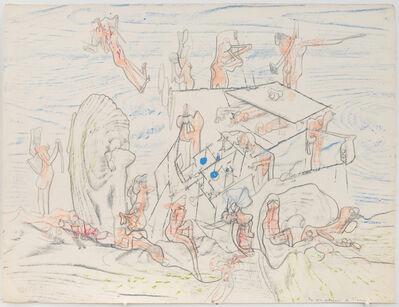 Roberto Matta, 'Les voix souterraines de l'avenir', ca. 1960