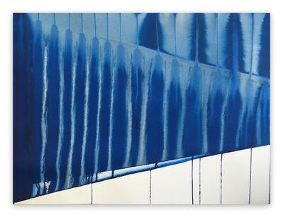 Martín Reyna, 'Perspective en bleu', 2019