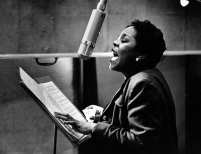 Herman Leonard, 'Dinah Washington, New York', 1955