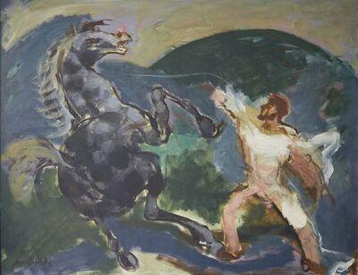 Mané-Katz, 'Le Poulain Indocile', c.1960s