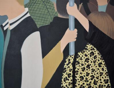 Henni Alftan, 'Métro (two paintings)', 2019