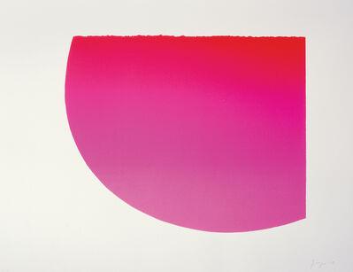 Rupprecht Geiger, 'Düsseldorfer Rot (pinc)', 2003